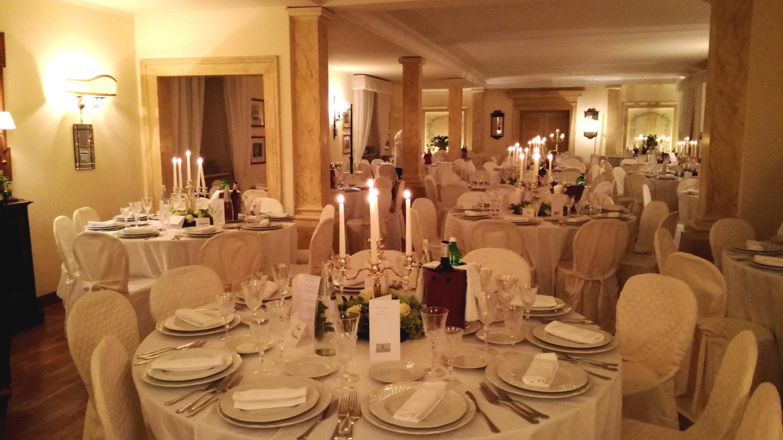 cena sala colonne