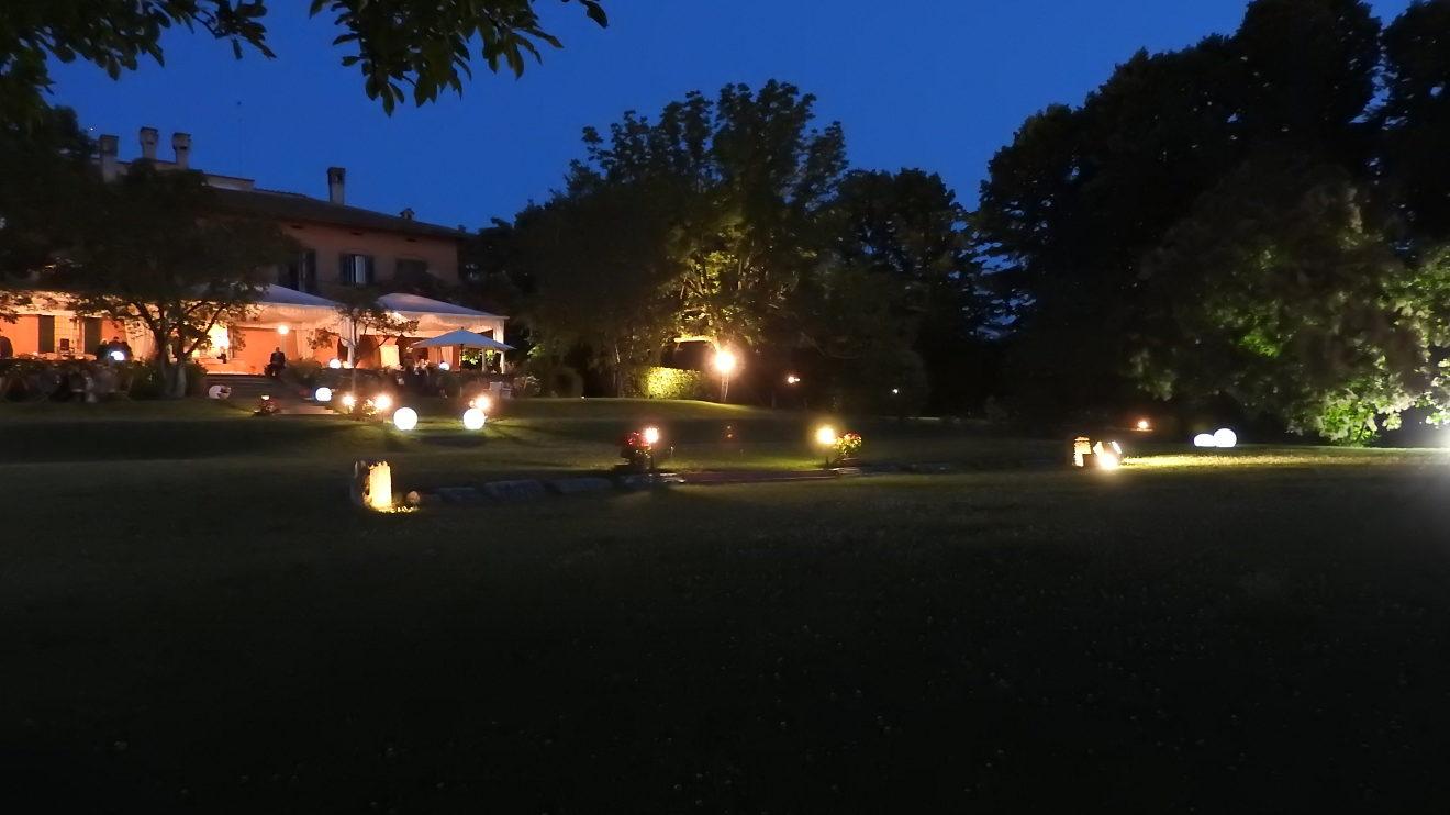 il parco di notte
